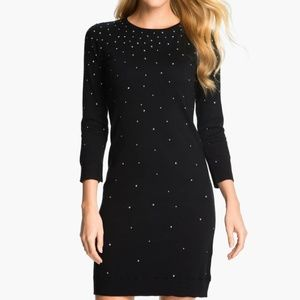 Michael Kors WHITE studded sweater dress